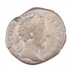 Emperor Marcus Aurelius, Silver Denarius, Felicitas, Rome , AD 176