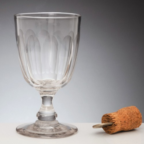 Large Victorian Glass Rummer c1880