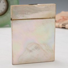 Elegant Birmingham Mother Of Pearl Card Case
