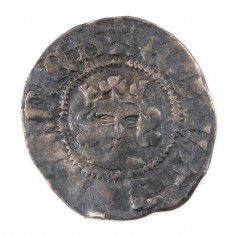 Edward III Silver Halfpenny,3rd 'Florin' Coinage 1344-1351
