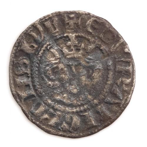 Longshanks Edward I Silver Halfpenny, 1279-1289