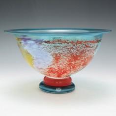 Kjell Engman For Kosta Boda CanCan Vase c1990