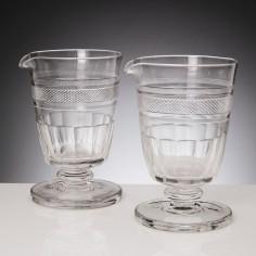 Georgian Cut Glass Mixing Rummers c1830