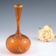 Early Daum Acid Cameo Solifleur vase c1895