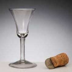 Plain Stem Georgian Wine Glass c1820