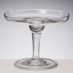 Small  18th Century Glass Tazza