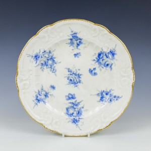 Nantgarw Donnington Hall Porcelain Plate c1820