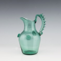 James Powell & Sons Green Jug c1905