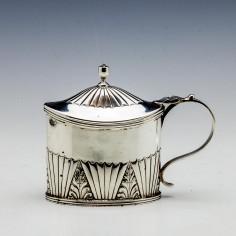 Victorian Sterling Silver Mustard London 1881