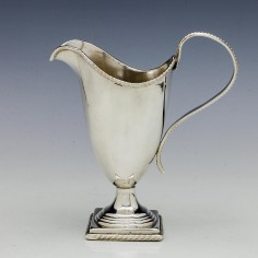 Old Sheffield Plate Cream Jug c1810