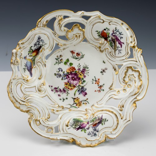 """Chelsea """"Gold Anchor"""" Period Plate c1765"""