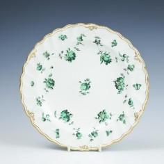 Chelsea Derby Soft Paste Porcelain Plate c1770