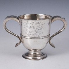George I Silver Loving Cup London 1726