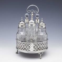 Georgian Sterling Silver Cruet London 1768