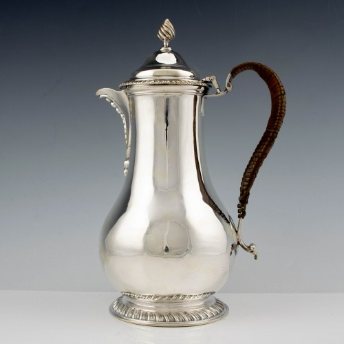 Victorian Silver Coffee Pot London 1886