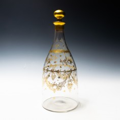 Early 19th Century French Façon Boheme Decanter