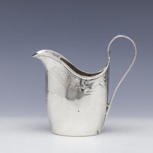 George III Sterling Silver Cream Jug Pre-1820