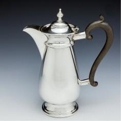 George V Silver Hot Water Jug Birmingham 1914
