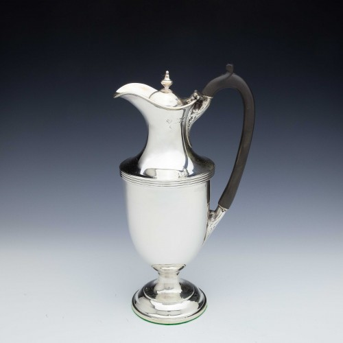 A Victorian Sterling Silver Claret Jug London 1896