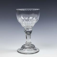18th Century Pedestal Stem Sweetmeat Glass c1750
