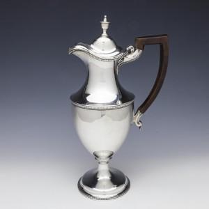 George III Sterling Silver Claret Jug London 1781