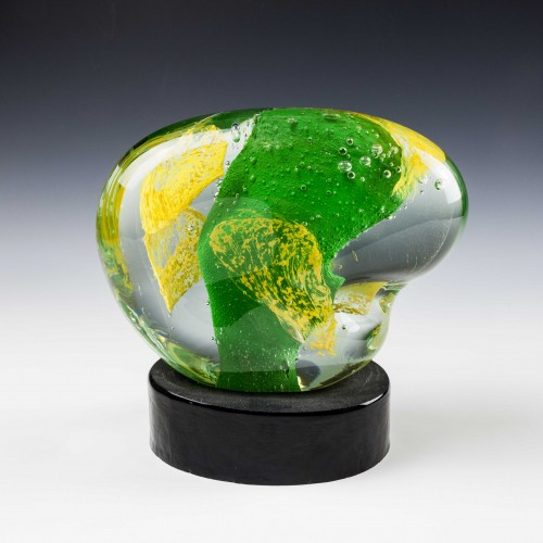A Stefano Toso Murano Glass Sculpture