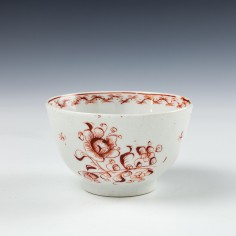 Monochrome English Porcelain Teabowl c1775 Was £60