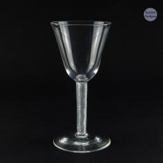 18th Century Air Twist Wine Goblet c1750