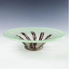 Art Deco WMF Ikora Glass Bowl c1930
