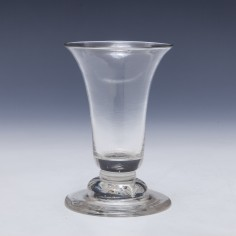 Domed Foot Dram Glass c1740