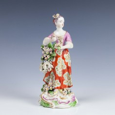 Derby Patchmark Figure of Summer c1765