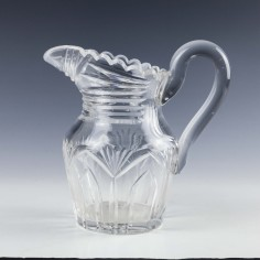 19th Century Glass Water Jug c1845