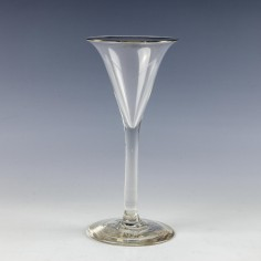 English Toasting Glass c1760