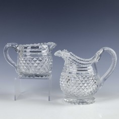 Two 19th Century Glass Jugs 1830-1860
