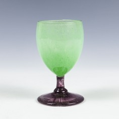 A Daum Nancy Wine Glass c1930
