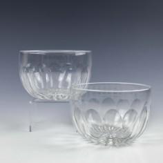 Vintage Lead Crystal Glass Finger Bowls