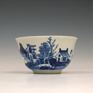 Scarce Vauxhall Porcelain Teabowl c1758