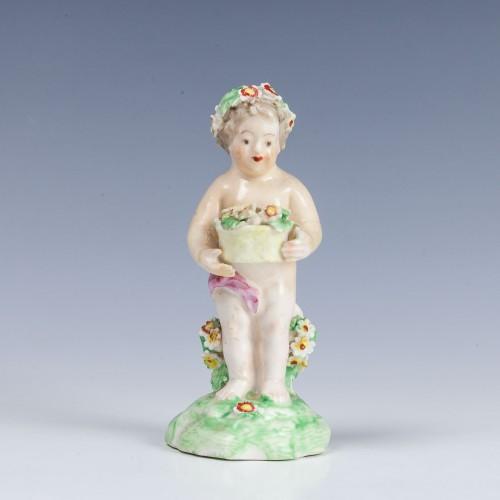 Derby Porcelain Putto c1785