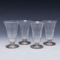 Set Of Four Georgian Jelly Glasses c1800