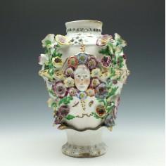 Bow Porcelain Centre Vase c1760