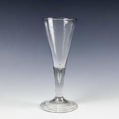 Georgian Plain Stem Ale Glass c1740