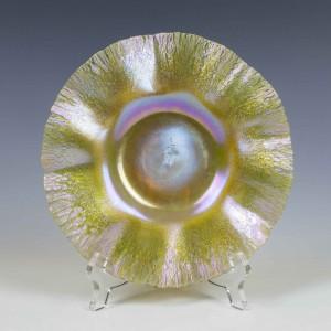 Signed LCT Tiffany Favrile Dish c1900