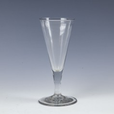 Georgian Plain Stemmed Ale Glass c1760