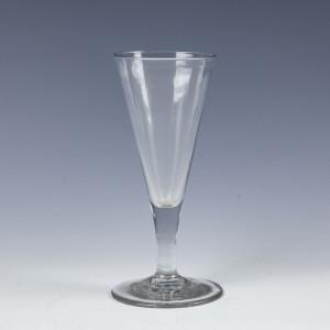 Georgian Plain Stemmed Ale Glass c1760
