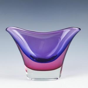 A Vibrant Murano Sommerso Vase