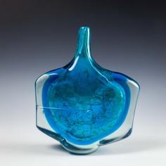 Large Mdina Fish Vase c1973