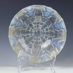 Rene Lalique Campanules Bowl Designed 1932 Was £975