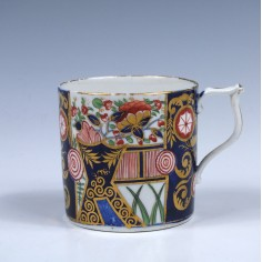 Derby Porcelain Imari Pattern Coffee Can c1815