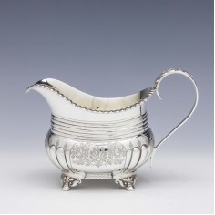 Victorian Sterling Silver Creamer by Atkin Brothers 1900