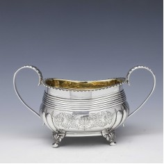 Georgian Sterling Silver Sucrier London 1817